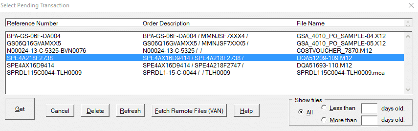 CSV Import to WAWF and IUID Registry