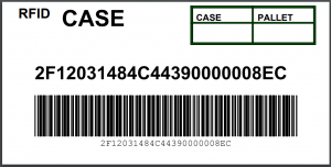 Generic RFID Case Label