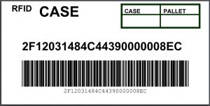 Generic RFID Case Label