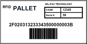 Lockheed Martin RFID Tag